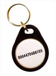 Badge format porte clef